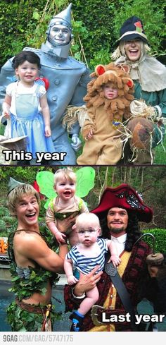 Neil Patrick Harris and his cute little family.