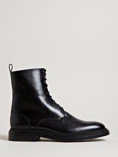 Yang Li Men's Lace Up Boots