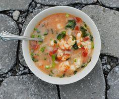 Cilantro Coconut Shrimp Soup #stiritupme