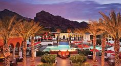 Montelucia Resort & Spa at Scottsdale - sits close to the picturesque Camelback Mountain and Piestewa Peak. Hummingbirds flitter near the pools. Outdoor fire pits compete with complimentary wireless Internet in a battle for your undivided attention. Who doesn't love smoothies and ice cream by the pool? For more Scottsdale 5 star collection, go to www.guestmob.com for more information.