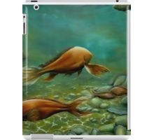 iPad Case/Skin,  unique,cool,fancy,beautiful,trendy,artistic,awesome,unusual,fashionable,accessories,gifts,presents,ideas,design,items,products,for,sale,green,brown,fish,ocean,underwater,redbubble