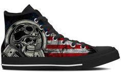 Custom Print Motorcycle Shoes for Men and Women