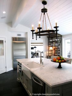 they removed a ceiling hung cupboard and got --- this!   classic • casual • home: Our Home Tour