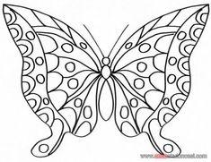 kelebek boyama resimleri ile ilgili görsel sonucu