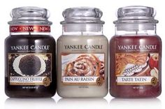 Yankee Candle 2015 Fragrances..... Love yankee candles especially the vanilla ones