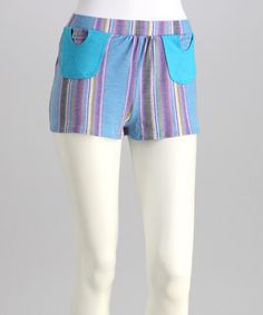 Take a look at this Oxford Circle Pocket Shorts by Rebecca Michaels on #zulily today!