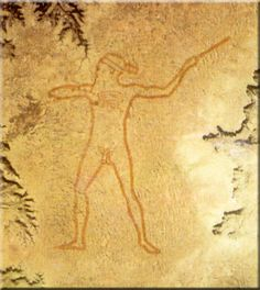 The Marree Man, or Stuart's Giant, is a modern geoglyph discovered by air on 26 June 1998. It appears to depict an indigenous Australian man hunting birds or wallabies with a throwing stick. It lies on a plateau at Finnis Springs in central South Australia. The figure is 2.6 miles tall with a circumference of 9.3 × 17 miles. Although it is the second largest geoglyph in the world, its origin remains a mystery, with not a single witness to any part of the expansive operation.