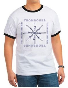 Great shirts and gifts for the trombone players in your life.