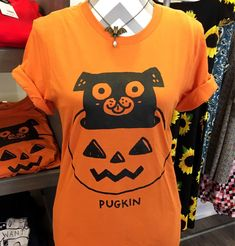 fc320566bc8b5 Excited to share this item from my #etsy shop: Pugkin Gemma Correll  Halloween Pug