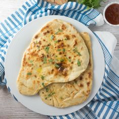 Homemade naan bread that's just as good as your local takeaway! Easy to make and the perfect accompaniment to any Indian dish.