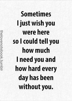 Love Quotes For Him : 60 Missing You Quotes and Sayings Meowchie's Hideout - Quotes Time The Words, Miss Mom, I Miss You Grandma, I Miss You Sister, I Miss Her, Super Soul Sunday, Grieving Quotes, Tu Me Manques, Dear Mom