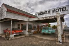 Wig Wam Motel, Holbrook, Arizona.