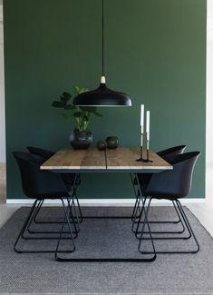 20 Trendy Dining Room Wall Colors to Transform Your Space Dining Room Walls, Dining Room Design, Dining Room Furniture, Modern Dining Room Lighting, Modern Lighting, Lighting Ideas, Table Lighting, Luxury Lighting, Esstisch Design