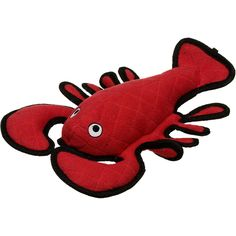 "VIP+Products+Tuffy's+Lobster+Dog+Toy+-+15"";L+X+10"";W+X+3"";H,+red.+For+dogs+of+all+sizes.+Includes+2+squeakers.+Soft+edges+won't+hurt+gums.+Floats+for+added+fun. - http://www.petco.com/shop/en/petcostore/product/vip-products-tuffys-lobster-dog-toy"