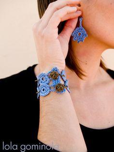Lola Gominola Crochet, Bracelets, Jewelry, Fashion, Bonbon, Moda, Jewels, Fashion Styles, Schmuck