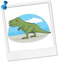 Tag the t-rex by the tail in this Dinosaur party game - Find more Dinosaur party ideas at http://www.birthdayinabox.com/party-ideas/guides.asp?bgs=16