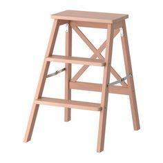 Табурет-стремянка деревянная, 3 ступеньки