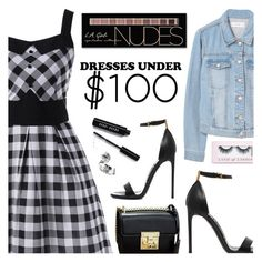 """""""Under $100: Summer Dresses"""" by dora04 ❤ liked on Polyvore featuring MANGO, Tom Ford, Bobbi Brown Cosmetics, Boohoo, Charlotte Russe, under100 and rosegal"""