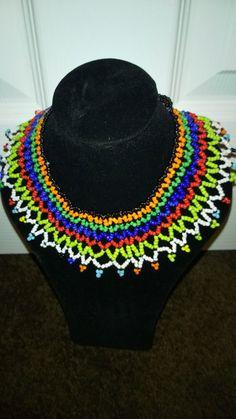 traditional zulu wedding necklace by TMFashionaccessories on Etsy
