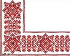 Орнаменты для скатерти или салфетки