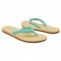 Roxy Women's MOALO flip flops in mint! #mintcondition