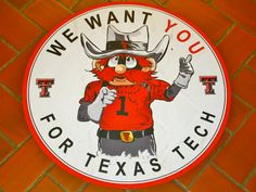 We Want You For Texas Tech!