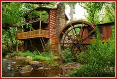 Lindsley Mill is way back in the middle of nowhere and located 20 miles from Gatlinburg, Tn.