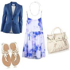 Pretty Blue Dress