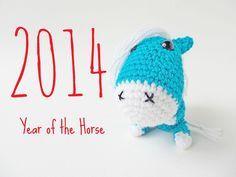 Amigurumi Horse - FREE Crochet Pattern / Tutorial