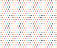 swiss cross fabric by katherinecodega on Spoonflower - custom fabric