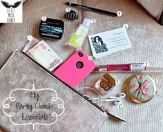 Whats In My Party Clutch (Essentials)