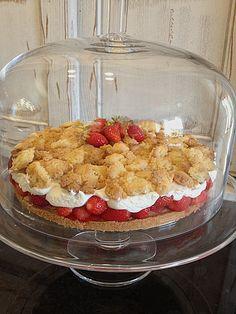 Erdbeerstreuselkuchen (Rezept mit Bild) von reise-tiger | Chefkoch.de