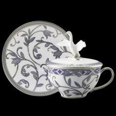 Prouna | Herba covered Teacup and Saucer