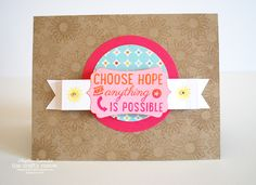 """""""Choose Hope"""" Card 