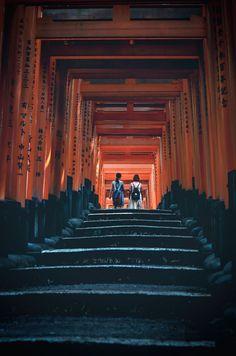 "Fushimi Inari Shrine - Kyoto, Japan """