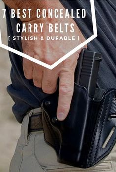 79a3c1bde0  Stylish + Durable  7 Best Gun Belts for Concealed Carry and Formal Use
