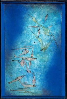 Paul Klee - Fish Image 1925