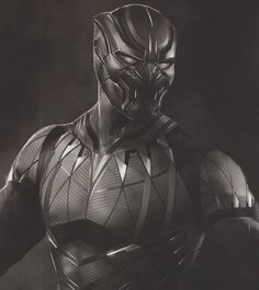 We've collected over 40 pieces of Black Panther concept art and here you'll find the first batch of that featuring futuristic, comic accurate, and cat-like takes on T'Challa's costume in the Marvel movie. Marvel Dc, Marvel Comic Universe, Marvel Heroes, Marvel Characters, Marvel Movies, Marvel Cinematic Universe, Black Panther King, Black Panther Marvel, Wakanda Marvel