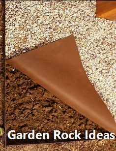 New DIY Garden Rock Ideas - amazing garden ideas Diy Garden Projects, Garden Crafts, Diy Garden Decor, Garden Ideas, Amazing Gardens, Beautiful Gardens, Garden Stand, Landscape Fabric, Garden Care