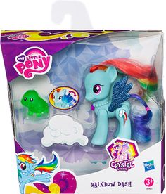"My Little Pony Crystal Empire Pony - Rainbow Dash - Hasbro - Toys ""R"" Us All Toys, Toys R Us, Holiday Deals, Holiday Gifts, Disney Junior, Disney Jr, Pet Turtle, Baby Alive, Kids Store"