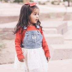 How stinkin' cute is Harlym in her @oshkoshkids holiday clothing? We live in Arizona, so our winters are less ear muffs and scarves and more long sleeves and light sweaters... I have a post up on the blog about desert holidays and there's also a coupon code! #oshkosh #bgoshbelieve link in bio!