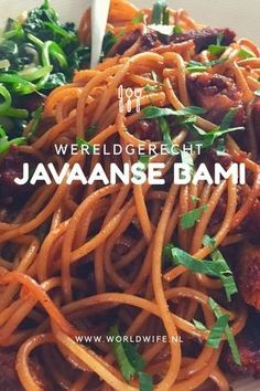 Javaanse bami (récept) - Lilly is Love Dutch Recipes, Asian Recipes, Cooking Recipes, Healthy Recipes, Bami Recipe, Suriname Food, Exotic Food, Indonesian Food, Indonesian Recipes