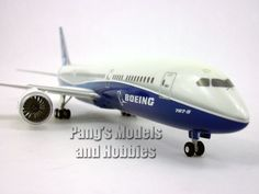 Boeing 787-9 Dreamliner Boeing House Colors 1/200 Scale by Hogan