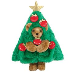 "15"" Beary Christmas Tree 