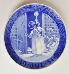 1951 ROYAL COPENHAGEN Christmas PLATE by LimitlessJewels on Etsy