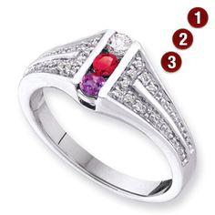 Pinnacle Ring Mother's ring