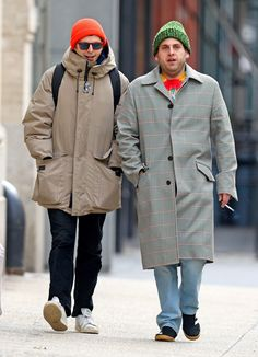 """Jonah Hill And Michael Cera Just Reunited And It's Giving Us """"Superbad"""" Vibes - obsessed Micheal Cera, Jonah Hill, Superbad, Urban Outfits, Streetwear Fashion, Street Wear, Menswear, Mens Fashion, Street Fashion"""