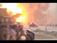 Explosão de veículo-bomba do ISIS filmada pela Polícia Federal do Iraque