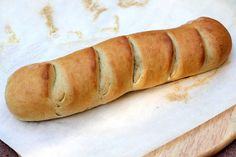 a hint of honey: French Bread