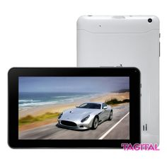 "Tagitalฎ 9"" Android 4.2 Tablet PC Capacitive Touch Screen A13 1.5GHz Dual Camera Bundle Keyboard"